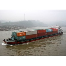 Inland river container ship