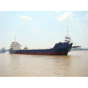 3500DWT self propelled deck barge