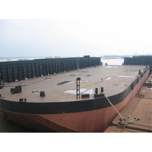 Non Propelled Deck Barge